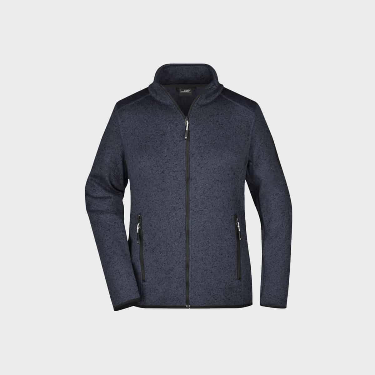 knitted-fleece-jacket-damen-darkgrey-kaufen-besticken_stickmanufaktur