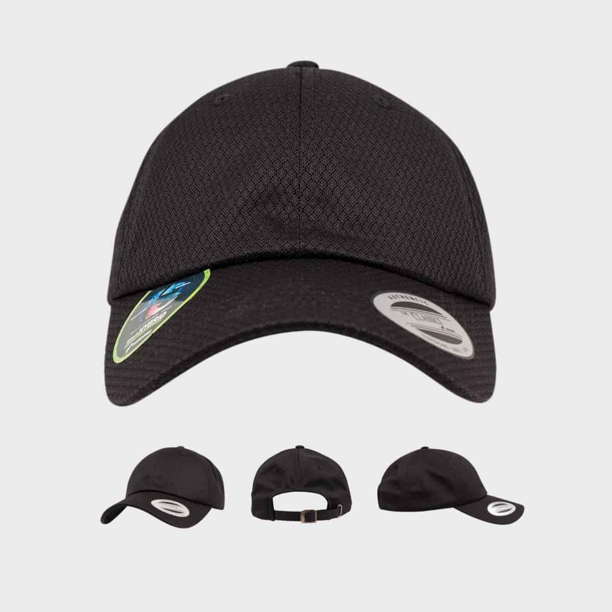 Flexfit FlexfitCaps FFE 6245HC Black Front Extra