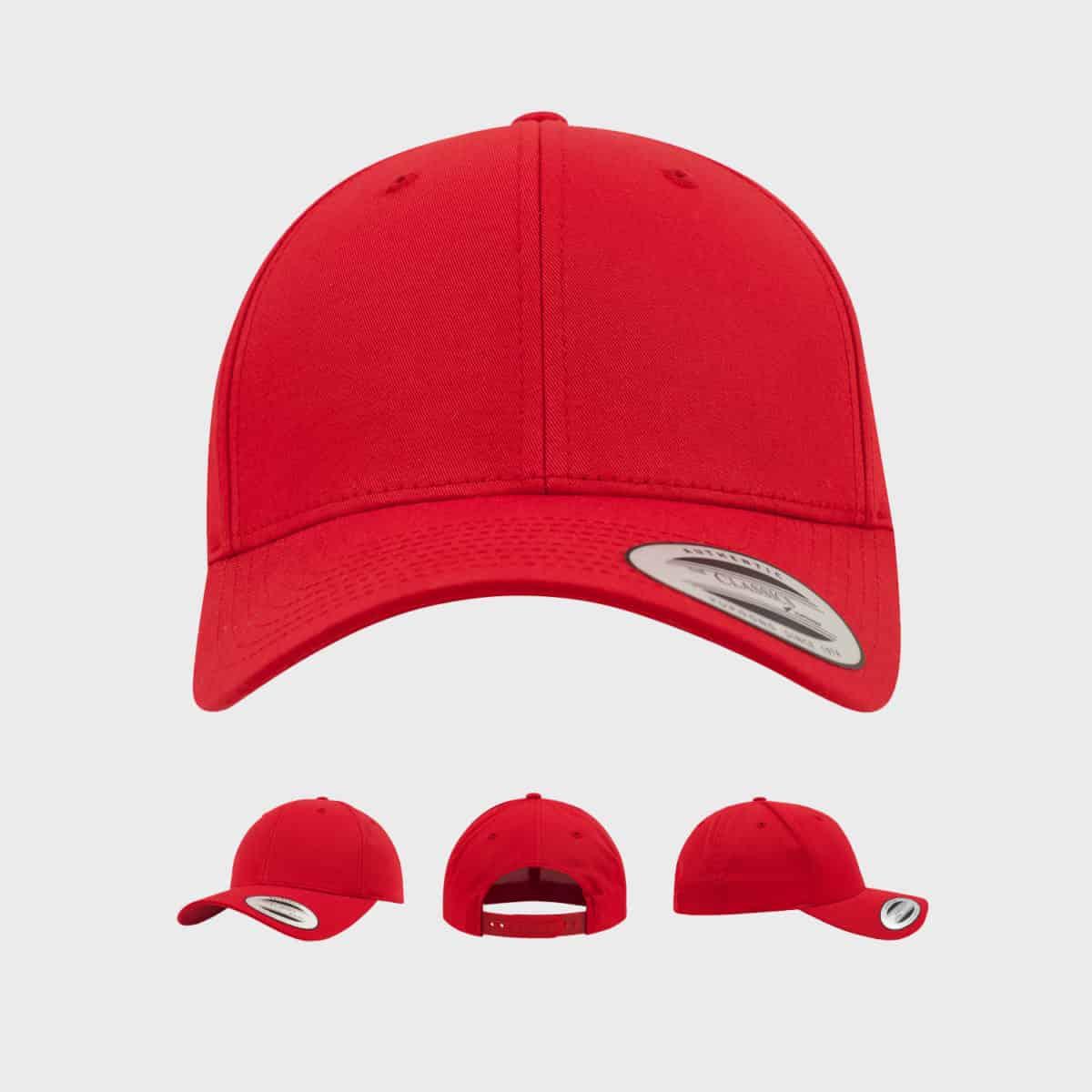 Flexfit Cap FFE 7706 Red Front Extra
